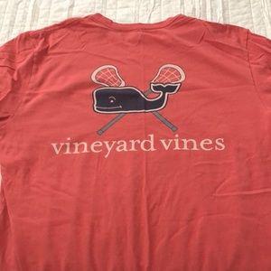 Vineyard vines lacrosse tshirt